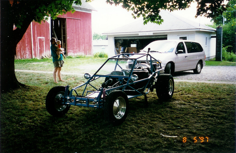 The dune buggy our ... relative ... built from scratch