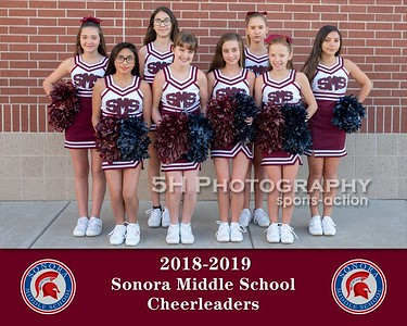 Sonora Cheerleaders