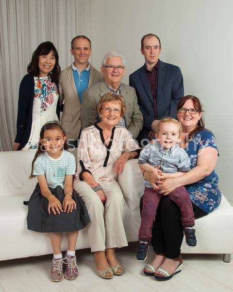 The Boyd Family Portraits