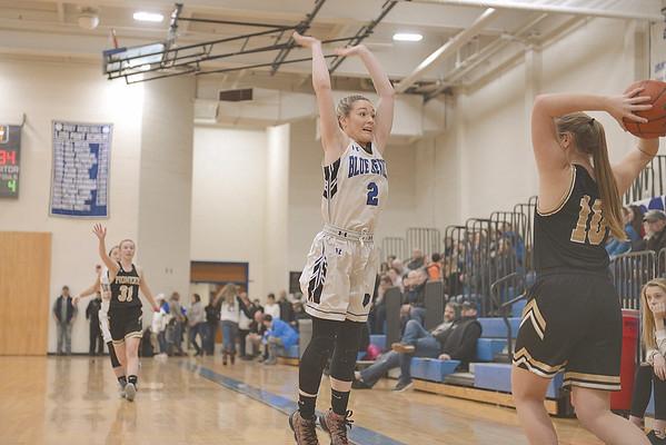Pioneer Valley at Drury girls basketball