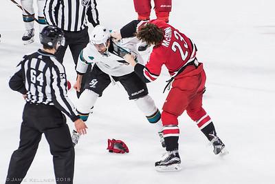 Canes vs Sharks 02.04.18