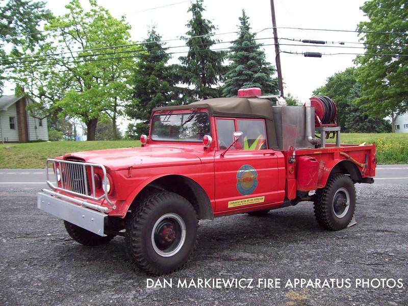 UPPER AUGUSTA FIRE CO. BRUSH 725 1968 KAISER JEEP/UAFC BRUSH UNIT