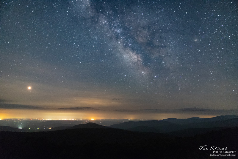Galactic Core over Northern VA