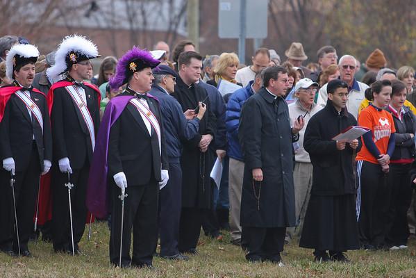 2009-11-21 Helpers vigil with Abp Vigneron