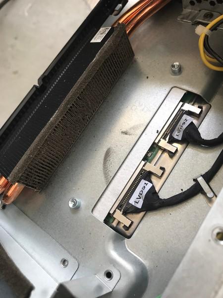 Dell 2710 Clogging