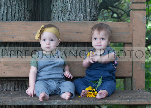 Parker Twins 1 Year