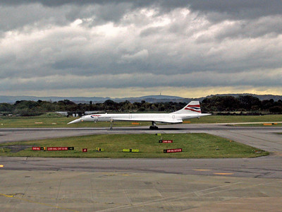 Concorde final flight - Manchester 31 October 2003
