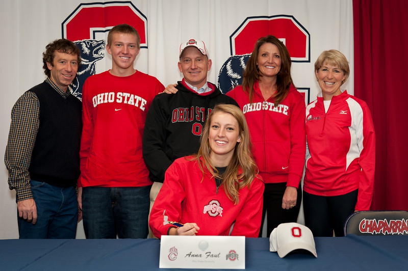 Chaparral Athletes Sign Letters Of Intent