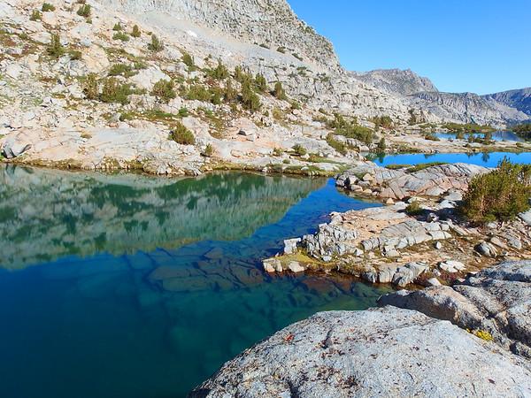 Treasure Lakes to Bishop Pass Trail