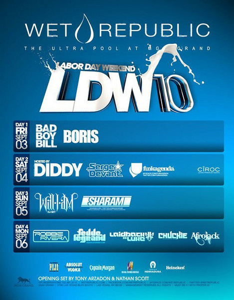 Wet Republic LDW Monday 9.6.10