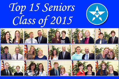 Top 15 Seniors of the Class of 2015 (4/9/15)