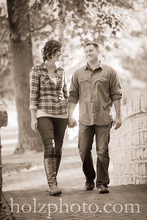 Jen & Derrick Creative Engagement Photos