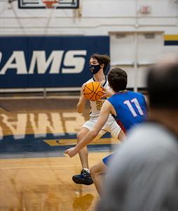 Boys JV Basketball 1/21