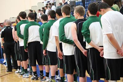 Boys Basketball Section Semi-Final vs Heritage