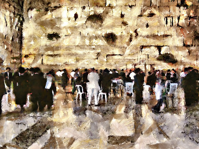 Israel Digital Paintings