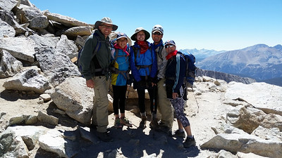 Mt. Whitney by the Mountaineer's Route - 8/9/16