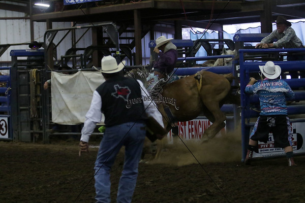Friday Night Bronc Riding