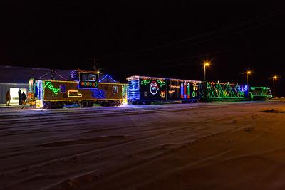 Santa Claus Parade and Train Moosonee 2014