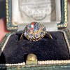 1.97ctw Antique Cluster Ring, GIA G SI2 37