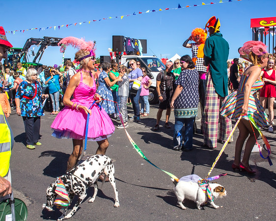 Shutterscapes II: Carnival Days, Aldeburgh 2017
