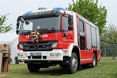Fahrzeugeinweihung LF10  Löschgruppe Karken