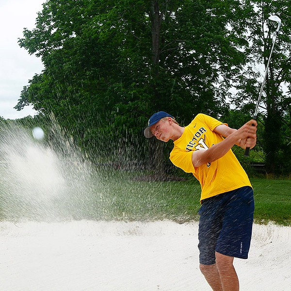 [Jack Haley/Messenger Post Media] Jeremy Summerson of Victor is the Daily Messenger''s Player of the Year in Golf