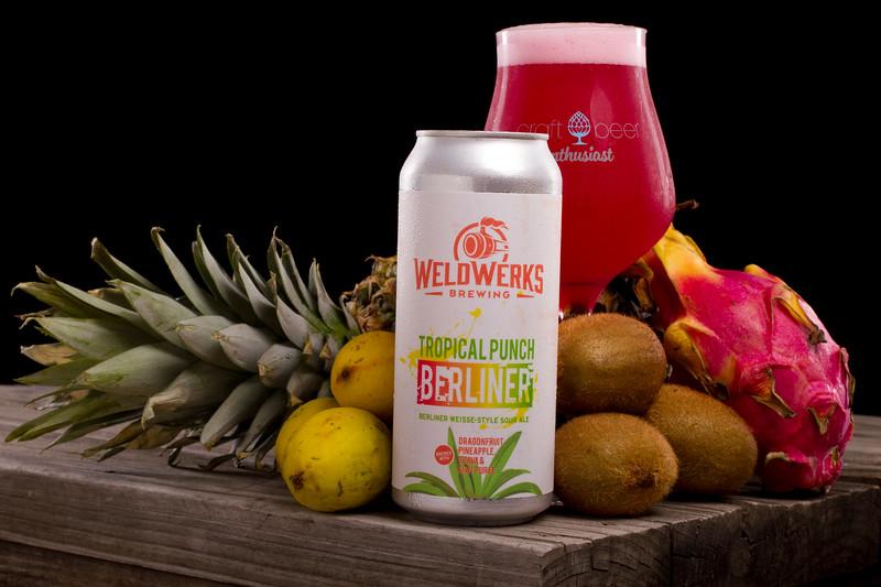 Weldwerks Brewing Company: Tropical Frui Berliner