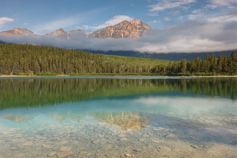Patricia Lake, Jasper National Park, Alberta, Canada.