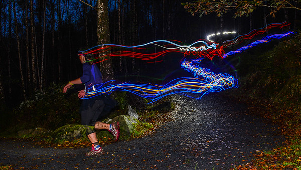 Petzl Night Trail Wales