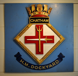 Chatham historic dockyard, 2012: Small craft and submarines