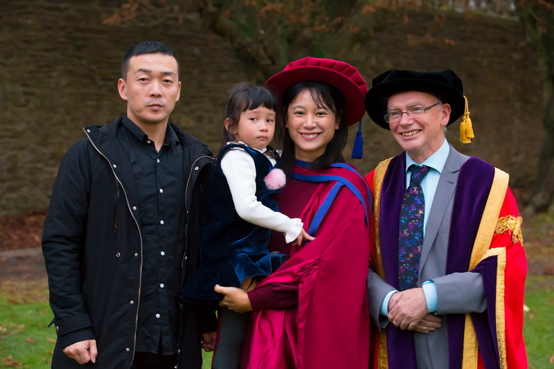 02/11/2017. Waterford Institute of Technology Conferring is Wei Tan who was conferred a PhD.  Picture: Patrick Browne.. Picture: Patrick Browne.