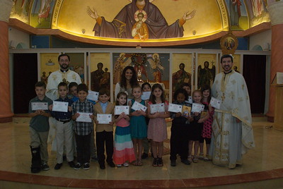 Church School Graduation - May 21, 2017