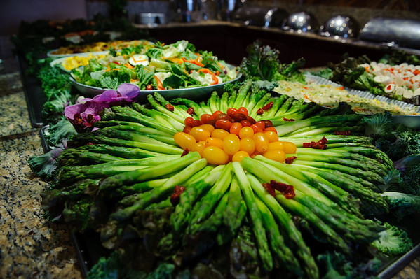 Espetus - Salad Bar  (Brazilian Churrascaria Food Photography) @ San Francisco, California