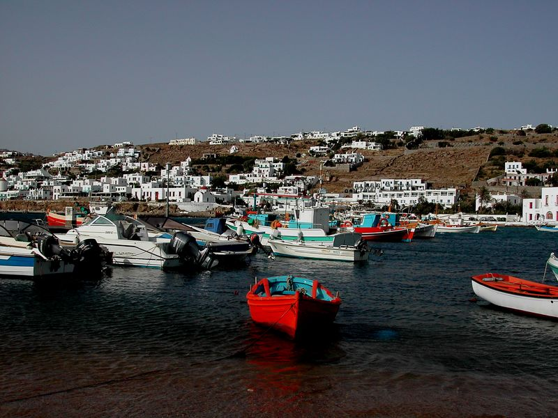 The Port at Mykonos