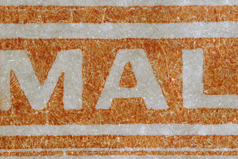Malaya Straits Settlements KGVI 2c orange striated paper 1941