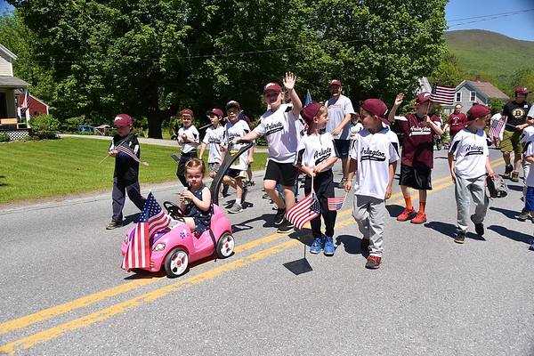 Fisher Loves A Memorial Day Parade I photos by Gary Baker