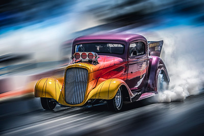 Drag Racing Composition / Art Work Gallery