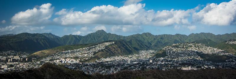 Honolulu suburbs