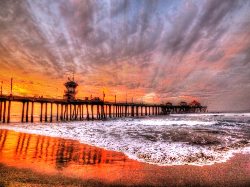 Dawns Colors Huntington Beach Pier.jpg