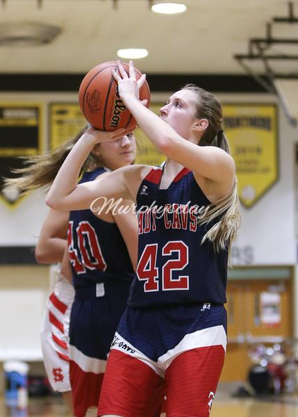 TCHS Girls Basketball vs SN - Sectional 2020