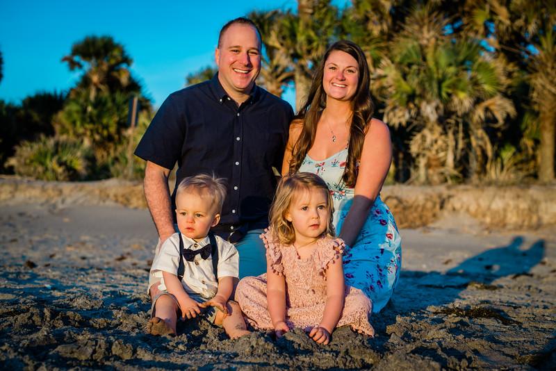 2020.02.04 - Broderick Family, Casperson Beach, Venice, FL