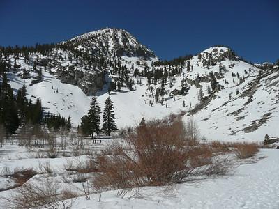 Onion Valley Ski Tour  5-2-10