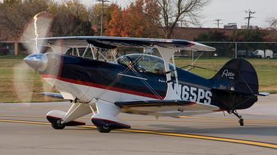 Pitts S-2B N65PS Air to Air pics 11-02-2008