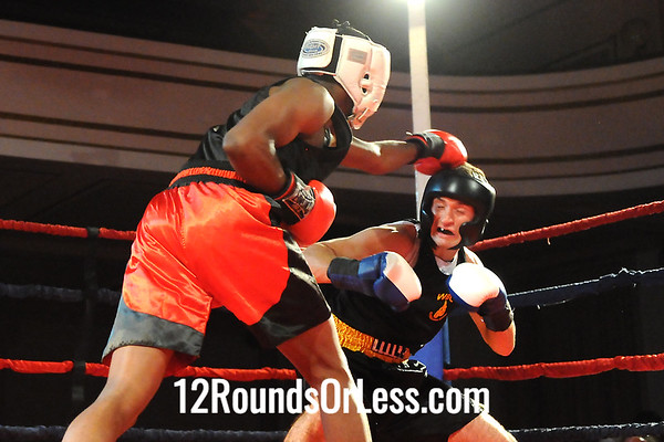 Bout #5  Dominic Rodgers, Glenville Rec, Cleve. -vs- Anthony Cannella, West Side BC, N. Olmsted 152 lbs. Novice