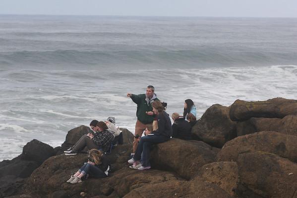 Marine Ecology Class Trip