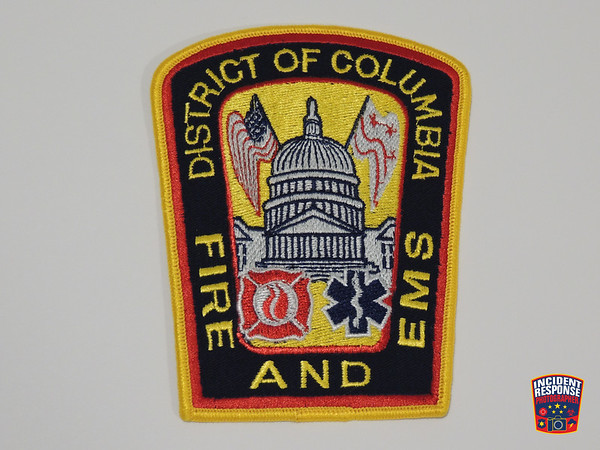 District of Columbia Fire Patches