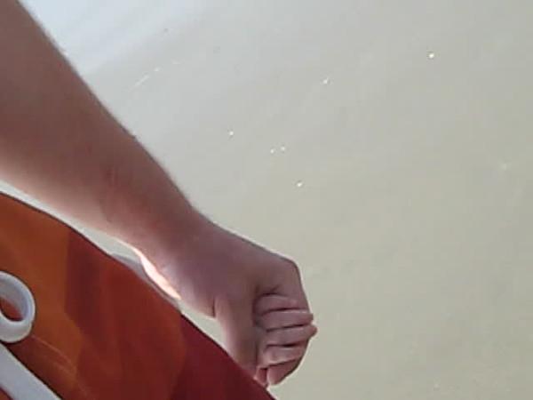 loving the sand.AVI