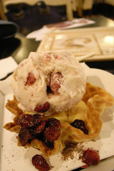 Tom's的野莓和芒果冰淇淋