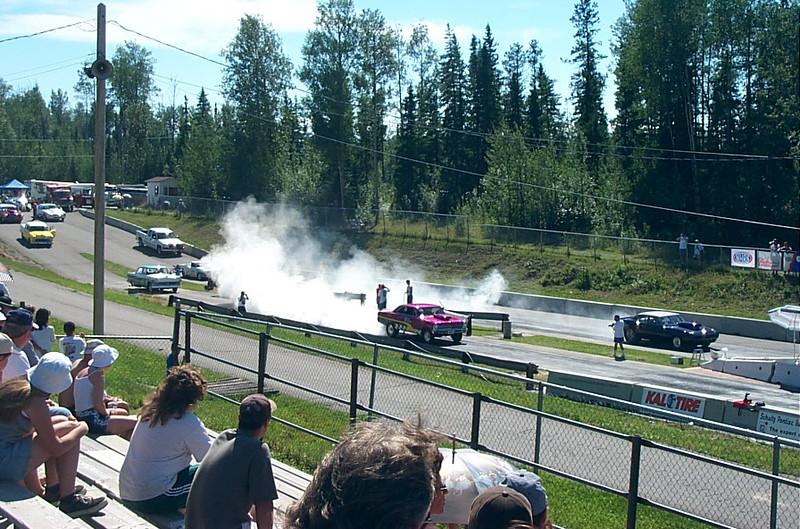 Smokey burn-out