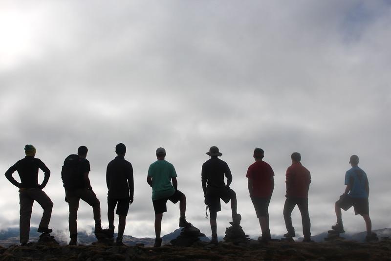 The Trift Hut hike boys